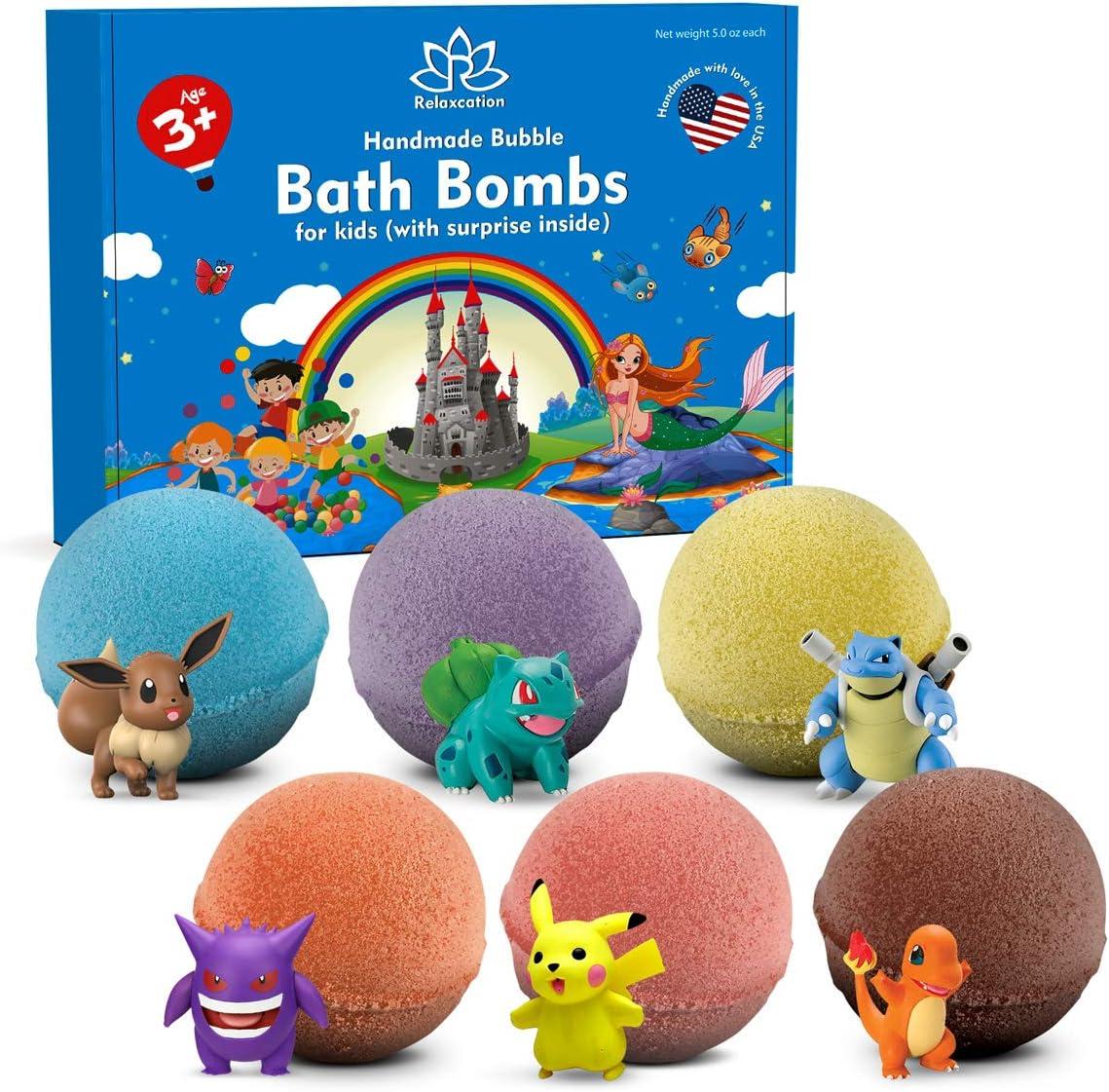 bombas de baño de san valentin con muñeco dentro