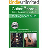 Ultimate Guitar Chords, Scales & Arpeggios Handbook: 240-Lesson, Step-By-Step Guitar Guide, Beginner to Advanced Levels… book cover