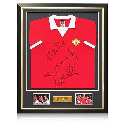 65030189220 Manchester United Shirt Signed By Cristiano Ronaldo