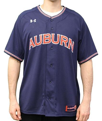 6a4c1cded35 Amazon.com   Under Armour Auburn Tigers NCAA Men s Baseball Jersey - Navy    Sports   Outdoors