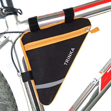 MOOCY Sport Bicycle Bike Storage Bag Triangle Saddle Frame Pouch for Cycling