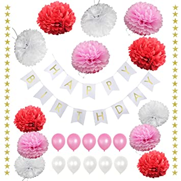 Amazon Locca 1st Birthday Baby Shower Decorations For Girls
