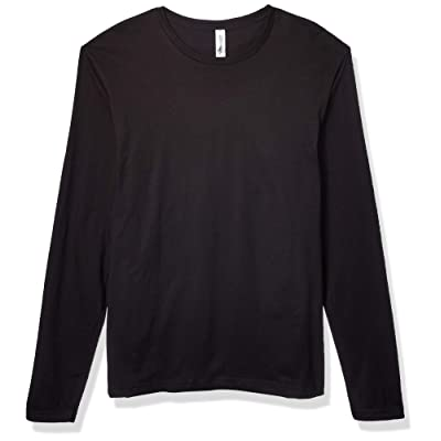 Marky G Apparel Men's Cotton Long-Sleeve Crew: Clothing