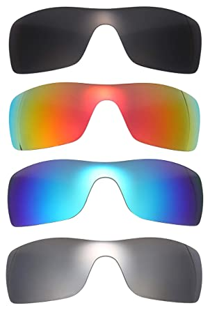 Oakley Batwolf Lenses >> Amazon Com Nicelyfit 4 Pairs Polarized Replacement Lenses For