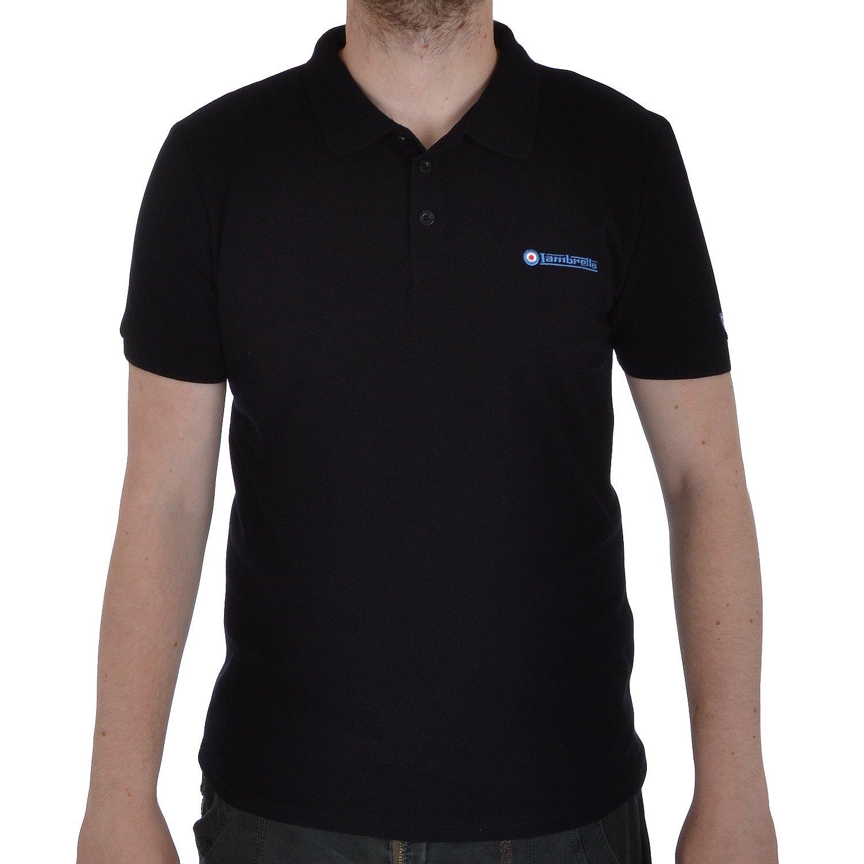 Lambretta - Polo-shirt para Hombre - Manga corta - algodón-piqué ...