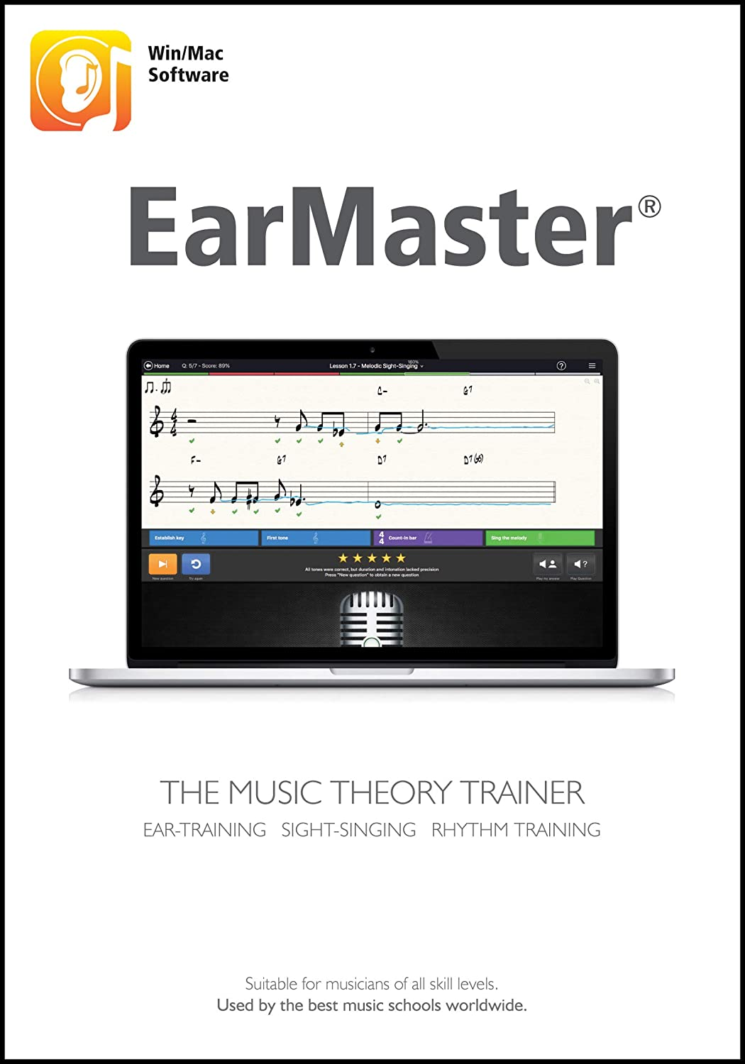 EarMaster 7 Professional [Windows PC/Mac Download]