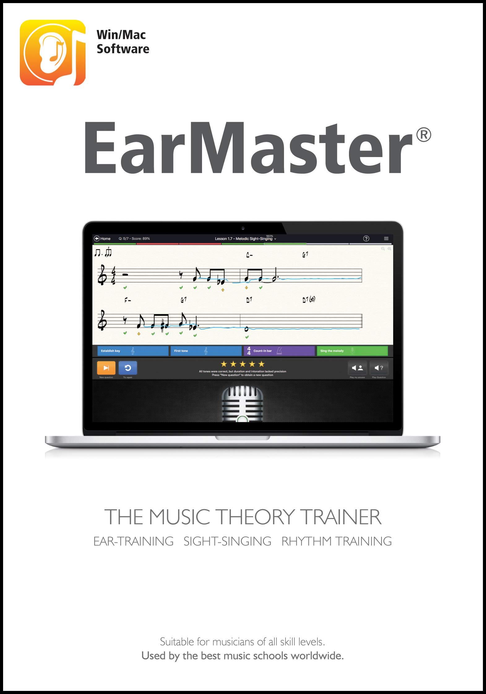 EarMaster 7 Professional [Windows PC/Mac Download]