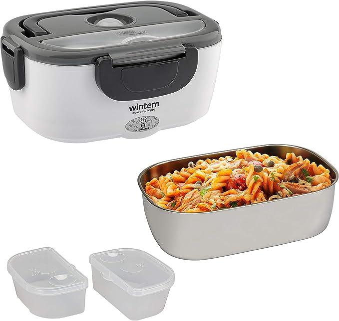 150 opinioni per Wintem Lunchy Box Scaldavivande in Acciaio Inox (Grigio)
