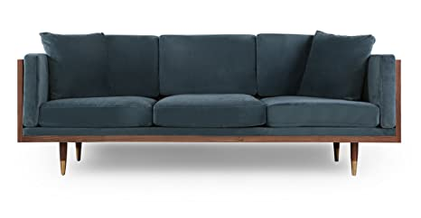Amazon.com: kardiel Woodrow exuberante sofá moderno de ...