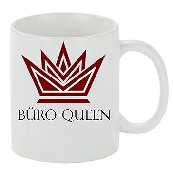 Kaffeebecher Buro Queen Kaffeetasse Kaffeetasse Mit Motiv