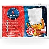 THE HEAT COMPANY Calentador de Manos XL - 10 piezas - EXTRA CÁLIDO - Calentador grande - 24 horas de manos calientes…