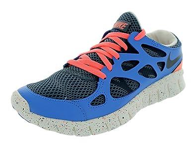 44a63e11a2a Nike Womens Free Run 2 Ext Armory Slate Distance Blue Atomic Pink Armory