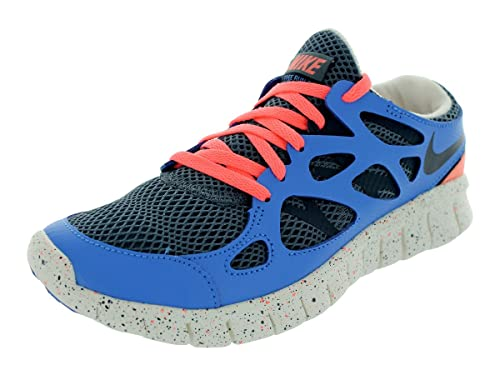 sports shoes 7ad40 b0196 Nike Womens Free Run 2 Ext Armory Slate Distance Blue Atomic Pink Armory