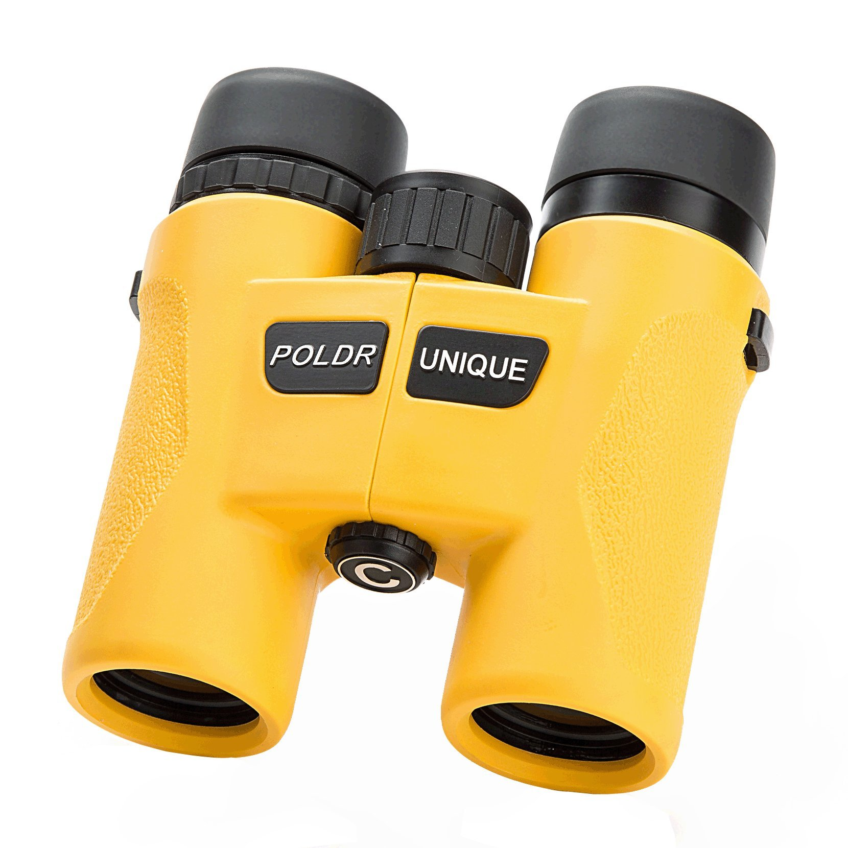 Binoculars Compact Roof Prism 8x32 for Bird watching Stargazing Wildlife Concert Sport Sightseeing (Yellow)