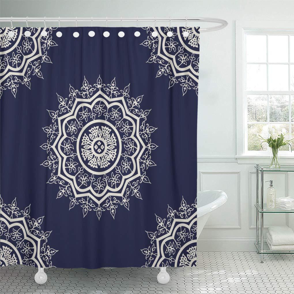 Semtomn - Cortina de ducha decorativa, diseño de mujer egipcia ...