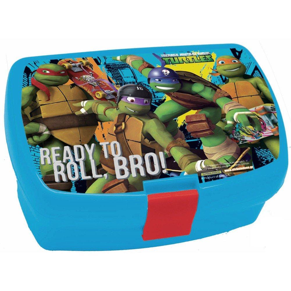 Recinto fiambrera de tortuga Ninja Disney niño: Amazon.es: Hogar