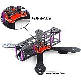 DroneAcc Quadcopter Frame Kit 220 mit PDB, starke und leichte X Design Drone Frame mit 4MM Arm, Martain II RX220 Kohlefaser FPV Racing Quad Frame