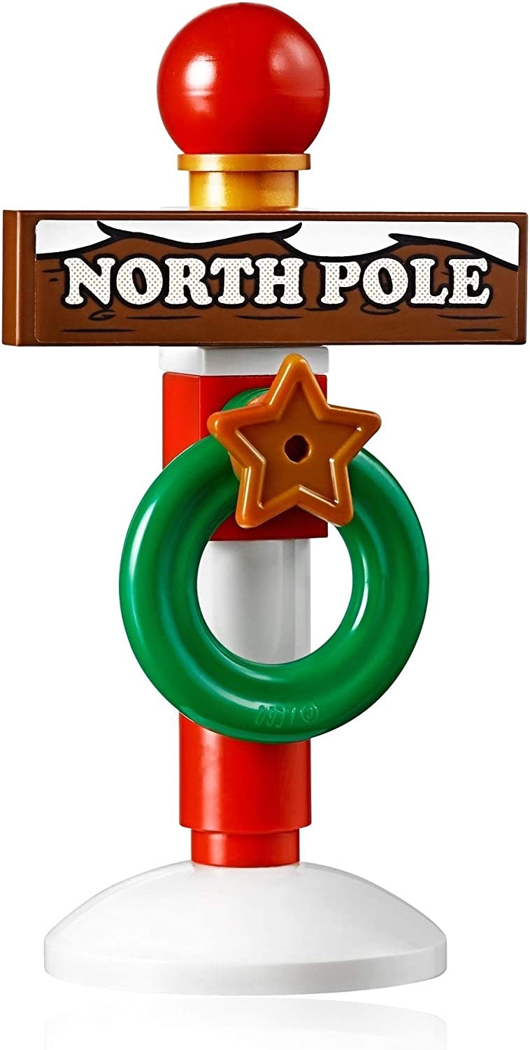LEGO Holiday Xmas Accessory - North Pole Stand (Great with Santa Minifigure) New for 2019