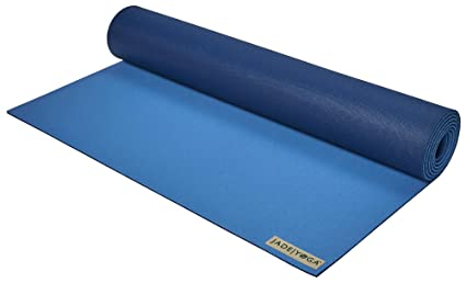 Jade Yoga 2 tone mat, Slate blue/Midnight blue: Amazon.es ...