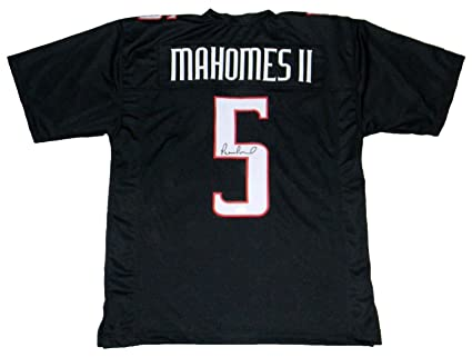 5bf9abeef Image Unavailable. Image not available for. Color  Patrick Mahomes Signed  Jersey ...