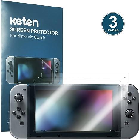 Keten Nintendo Switch Protector Pantalla [Pack de 3], 2017 ...