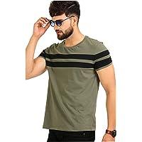AELO Men's Cotton T Shirt-(Amt1020-Pn)