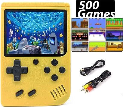 Consola de Juegos Portátil, 500 Games clásico Retro FC Plus, Cable ...