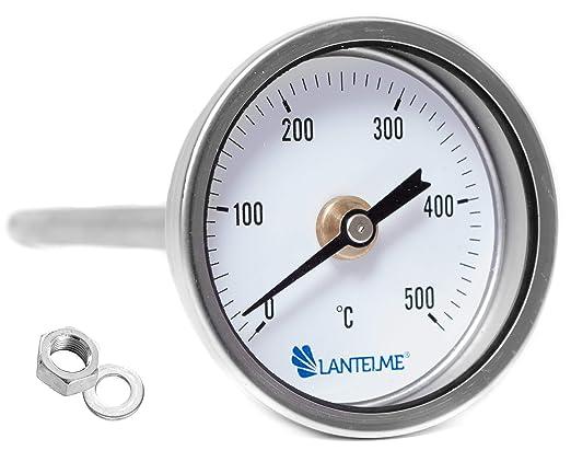 Compra Lantelme - 500 ° c grado horno leña bimetálico y horno ...