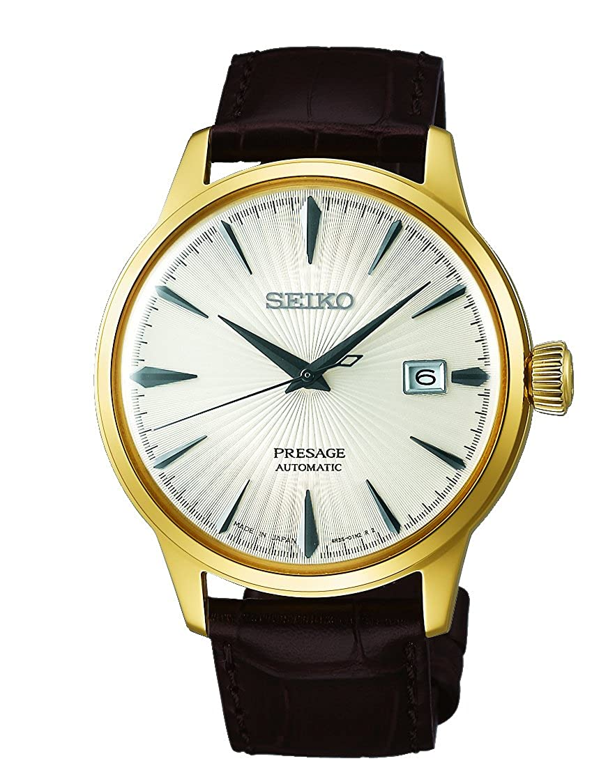 SEIKO PRESAGE Automatic Champagne Gold Cocktail Time Margarita SRPB44J1