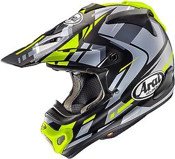 Casco Arai MX-V de motocross 2018, caja de MXV, amarillo, para