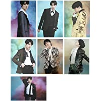 VT Cosmetics x BTS/BTS Photo Card & Poster (BTS 7 Photocards A&B Type (Tamaño: 108 x 148/A6 Tamaño), Photo Poster…