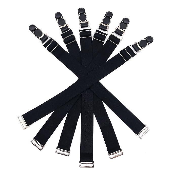 6 Pcs Adjustable Elastic Garter Belts Corset Body Shaper Garter Clips ed162ca96