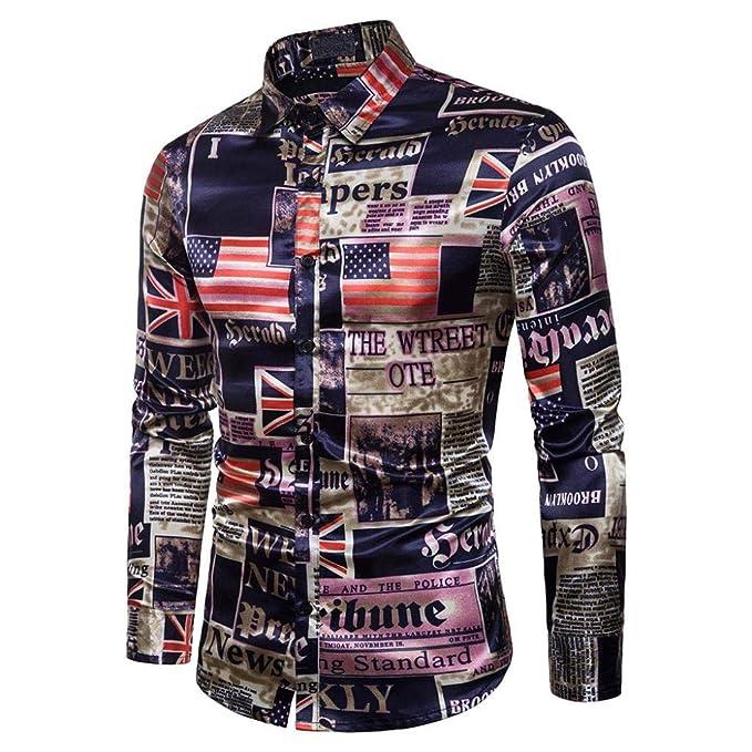 ☆Camiseta Hombre, Los Hombres de Negocios de Moda de Manga Corta Delgada Delgada Fawn T-Shirt Sportwear Top Blusa: Amazon.es: Ropa y accesorios