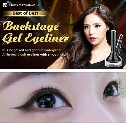 TONYMOLY Backstage Gel Eyeliner #1 Black [Misc.]: Amazon.co.uk: Beauty