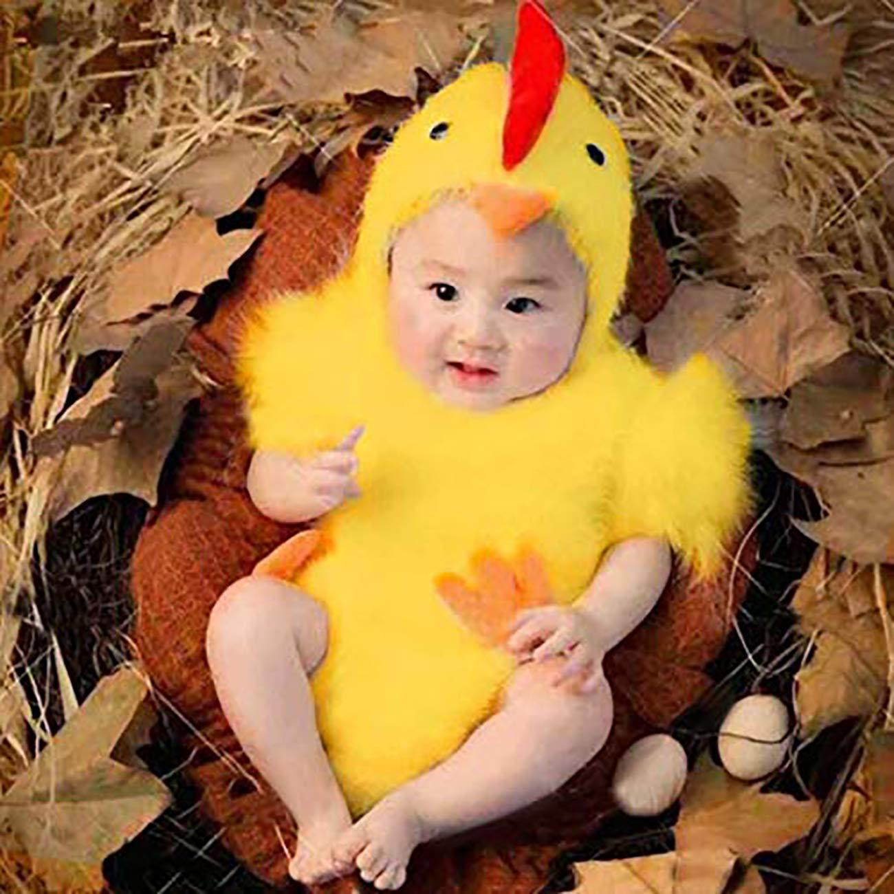 Feynman Newborn Baby Photography Costume Set