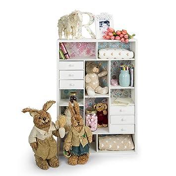 EUROPEAN SHABBY-CHIC Sideboard Kommode für Kinderzimmer. Größe 64 x ...