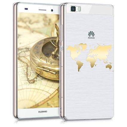 Amazon.com: kwmobile - Carcasa de TPU para Huawei P8 Lite ...
