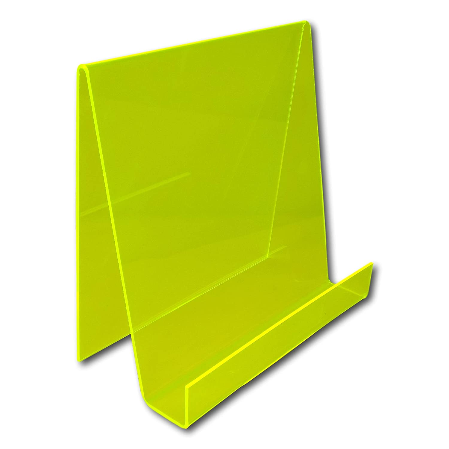 Perfect for Schools Bubblegum Blue Libraries etc Nurseries EPOSGEAR XL Extra Large Wide Plastic Acrylic Perspex Book Plate Retail Display Stand Holder