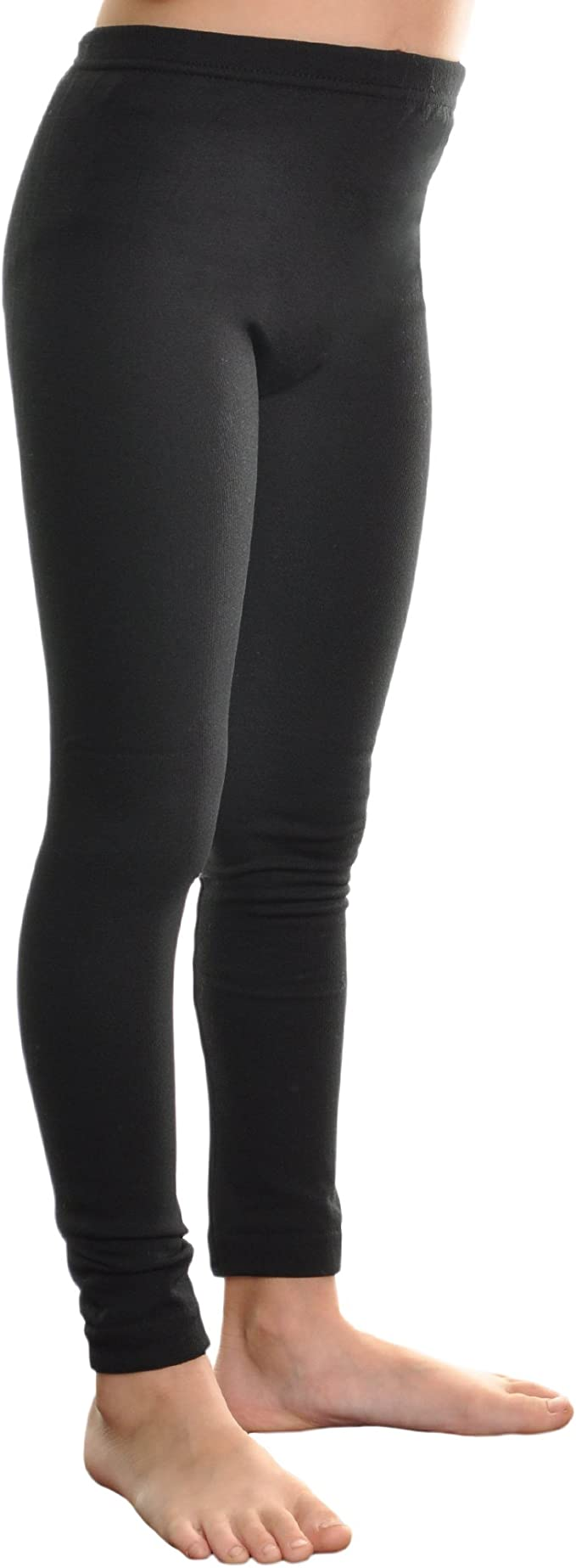 Angelina Girls Fleece-Lined Leggings 6-Pairs