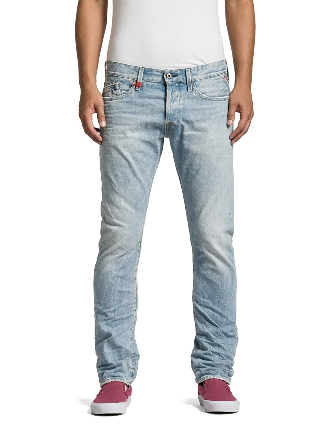 Replay Herren Straight Leg Jeans Waitom
