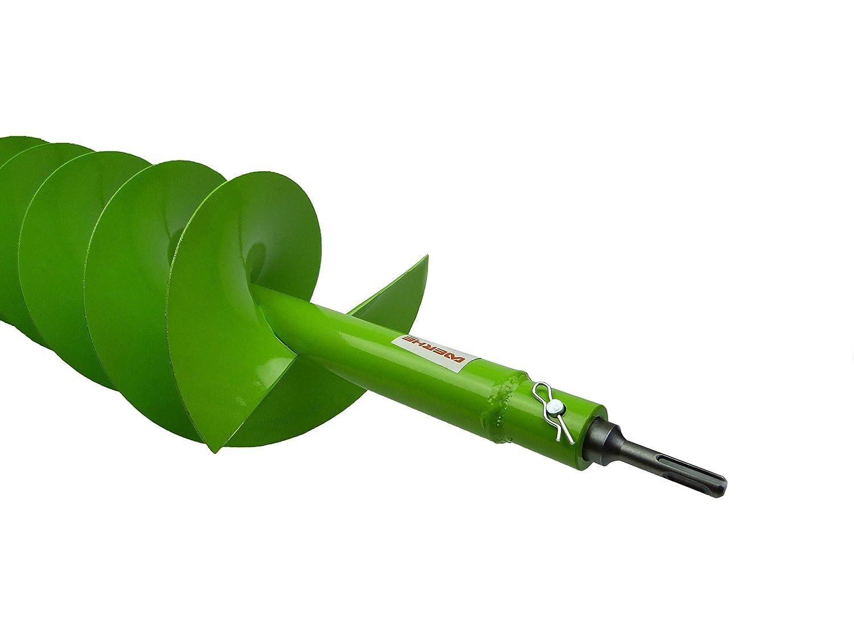 WERHE coclea 40mm con adattatore SDS Plus Punta robusta Punta per trapano Punta per trapano