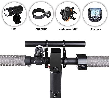 MTB Bike Handlebar Extension Mount Bicycle Handle Bar Bracket Extender Holder