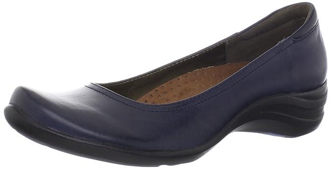 ea2062cd65 Hush Puppies Women's Alter Pump Navy Leather Flat 6 WW (EE): Amazon.de:  Schuhe & Handtaschen