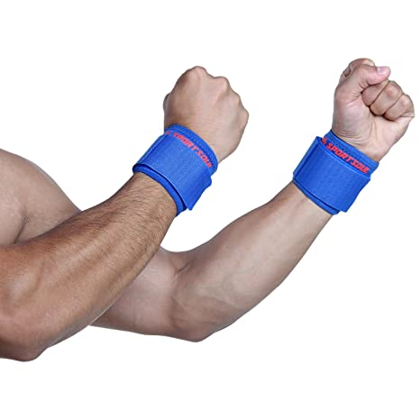 SportSoul Wrist Support   Pack of 2  Free Size  Wraps