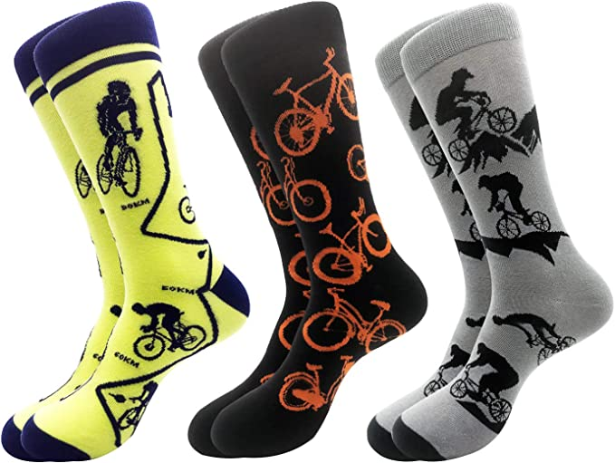 Merclix Calcetines Hombre Algodon Divertidos Originales Dibujos Regalos Hombre: Amazon.es: Ropa y accesorios