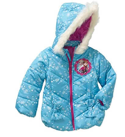 8d558adbac7d Image Unavailable. Image not available for. Color: Disney Frozen Girl's Puffer  Coat ...