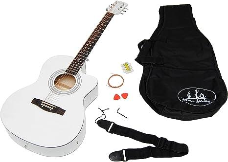 ts-ideen - Set de guitarra acústica eléctrica y pastilla (incluye ...