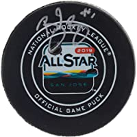 $67 » Brent Burns San Jose Sharks Autographed 2019 NHL All-Star Game Official Game Puck - Fanatics Authentic Certified