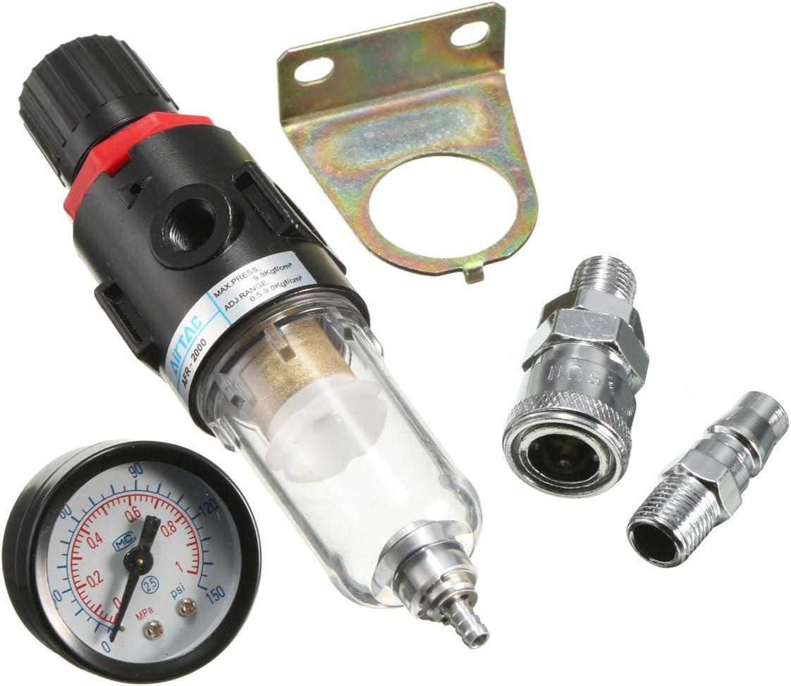 """1//2/"""" AFR 2000 Air Filter Regulator Moisture Trap Pressure Gauge Compressor qwe"""