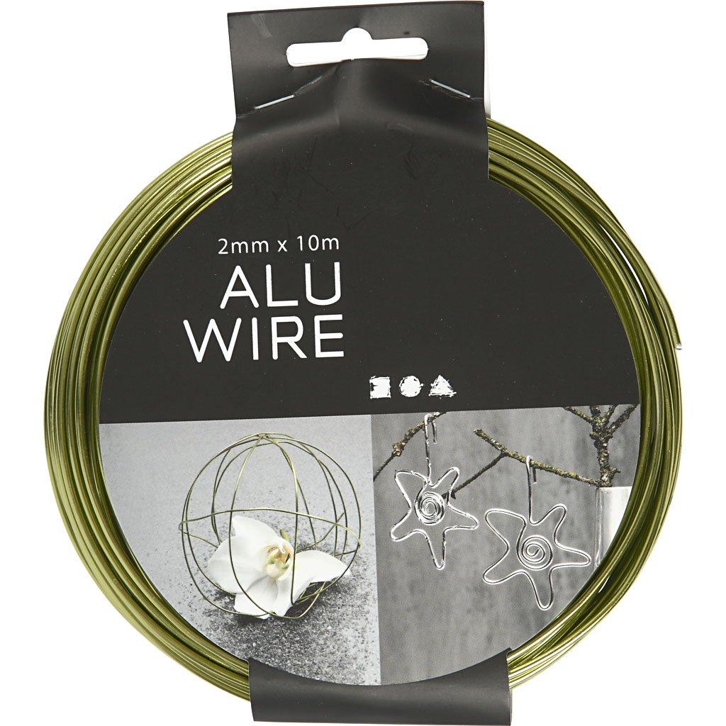 Fil daluminium 10m rond /épaisseur 2 mm noir